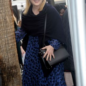 Celebrities wearing Givenchy Horizon bag