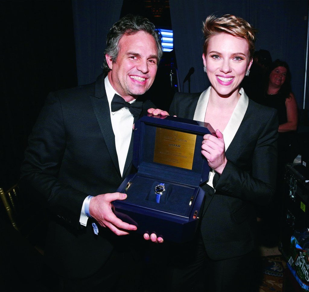 HARRY WINSTON au amfAR'S STAR-STUDDED NEW YORK GALA 2017