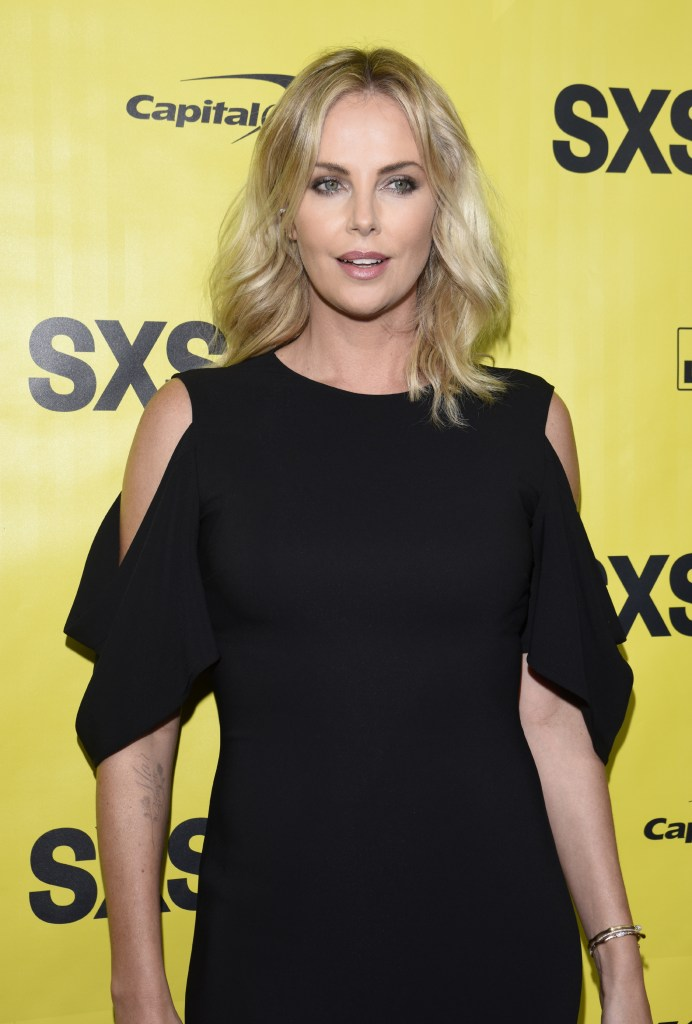 Charlize Theron in Givenchy by Riccardo Tisci