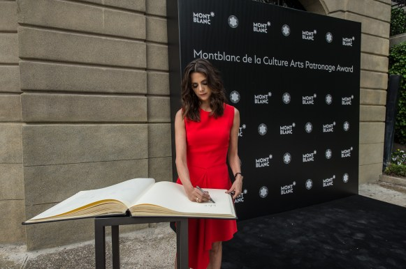 MADRID, SPAIN - MAY 04: Macarena Gomez attends Montblanc de la Culture Arts Patronage Award at the Madrid Palacio Liria on May 4, 2017 in Madrid, Spain. (Photo by Carlos Alvarez/Getty Images for Montblanc)