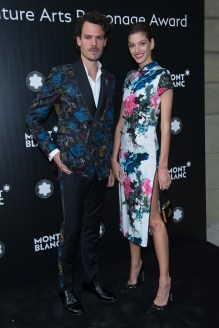 MADRID, SPAIN - MAY 04: Juan Avellaneda and Marta Ortiz attend Montblanc de la Culture Arts Patronage Award at the Madrid Palacio Liria on May 4, 2017 in Madrid, Spain. (Photo by Carlos Alvarez/Getty Images for Montblanc)