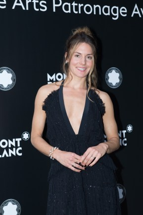 MADRID, SPAIN - MAY 04: Natasha Andrews attends Montblanc de la Culture Arts Patronage Award at the Madrid Palacio Liria on May 4, 2017 in Madrid, Spain. (Photo by Carlos Alvarez/Getty Images for Montblanc)