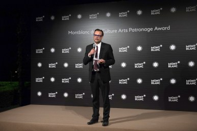 MADRID, SPAIN - MAY 04: Till Fellrath attends to Montblanc de la Culture Arts Patronage Award At The Madrid Palacio Liria - Cocktail and Dinner on May 4, 2017 in Madrid, Spain. (Photo by Carlos Alvarez/Getty Images for Montblanc)