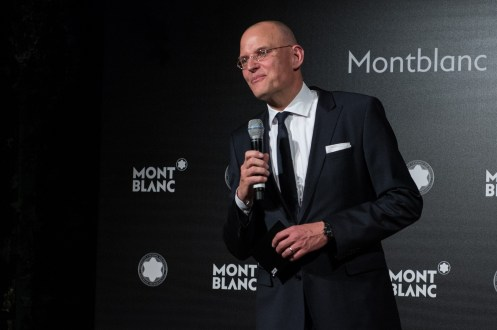 MADRID, SPAIN - MAY 04: Jens Henning Koch attends Montblanc de la Culture Arts Patronage Award At The Madrid Palacio Liria - Cocktail and Dinner on May 4, 2017 in Madrid, Spain. (Photo by Carlos Alvarez/Getty Images for Montblanc)