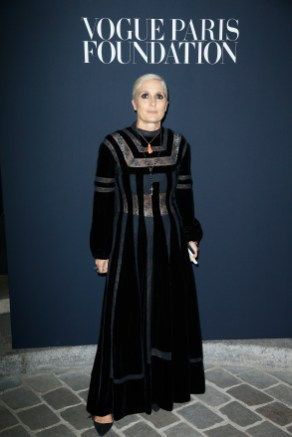 PARIS, FRANCE - JULY 04: Maria Chiuri attends the Vogue Foundation Dinner during Paris Fashion Week as part of Haute Couture Fall/Winter 2017-2018 at Musee Galliera on July 4, 2017 in Paris, France. (Photo by Julien Hekimian/Getty Images for Vogue) *** Local Caption *** Maria Chiuri