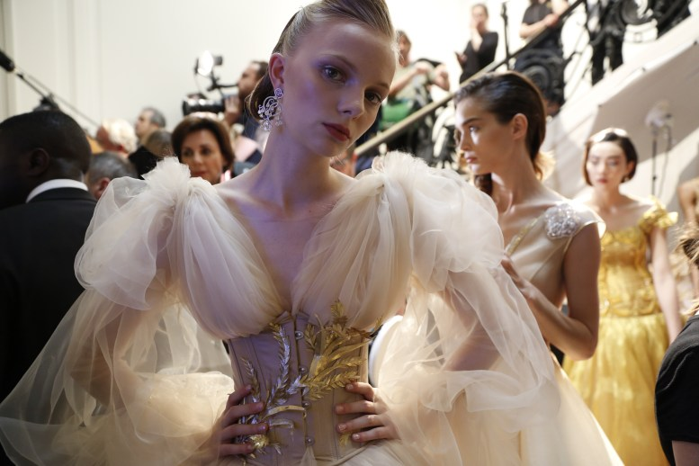 Guo Pei FW17-18 Couture- Backstage 101