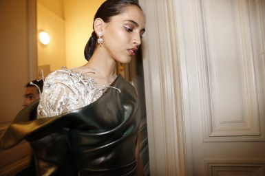 Guo Pei FW17-18 Couture- Backstage 129