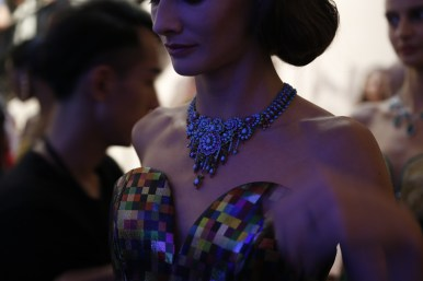 Guo Pei FW17-18 Couture- Backstage 94