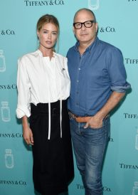 NEW YORK, NY - SEPTEMBER 06: Model Doutzen Kroes and Reed Krakoff attend the Tiffany & Co. Fragrance launch event on September 6, 2017 in New York City. (Photo by Jamie McCarthy/Getty Images for Tiffany & Co.)