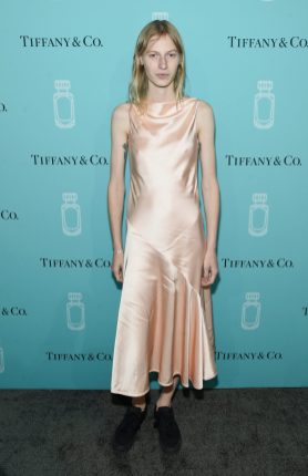 NEW YORK, NY - SEPTEMBER 06: Model Julia Nobis attends the Tiffany & Co. Fragrance launch event on September 6, 2017 in New York City. (Photo by Jamie McCarthy/Getty Images for Tiffany & Co.)