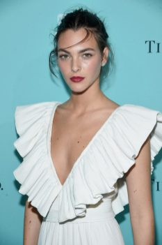 NEW YORK, NY - SEPTEMBER 06: Model Vittoria Ceretti attends the Tiffany & Co. Fragrance launch event on September 6, 2017 in New York City. (Photo by Jamie McCarthy/Getty Images for Tiffany & Co.)