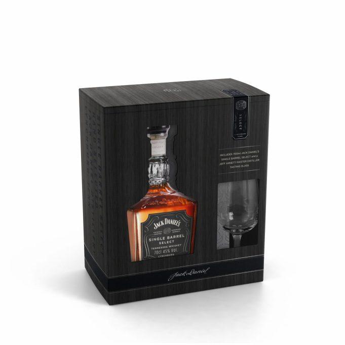 Coffret cavistes_Jack Daniel's Single Barrel Select_45€