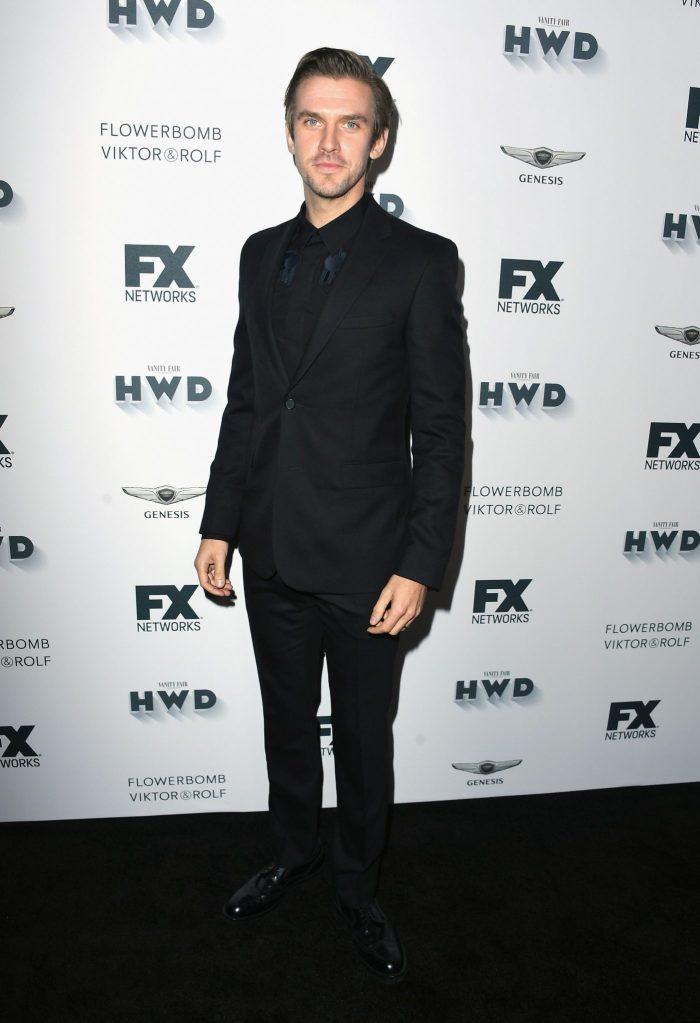Dan Stevens in Givenchy