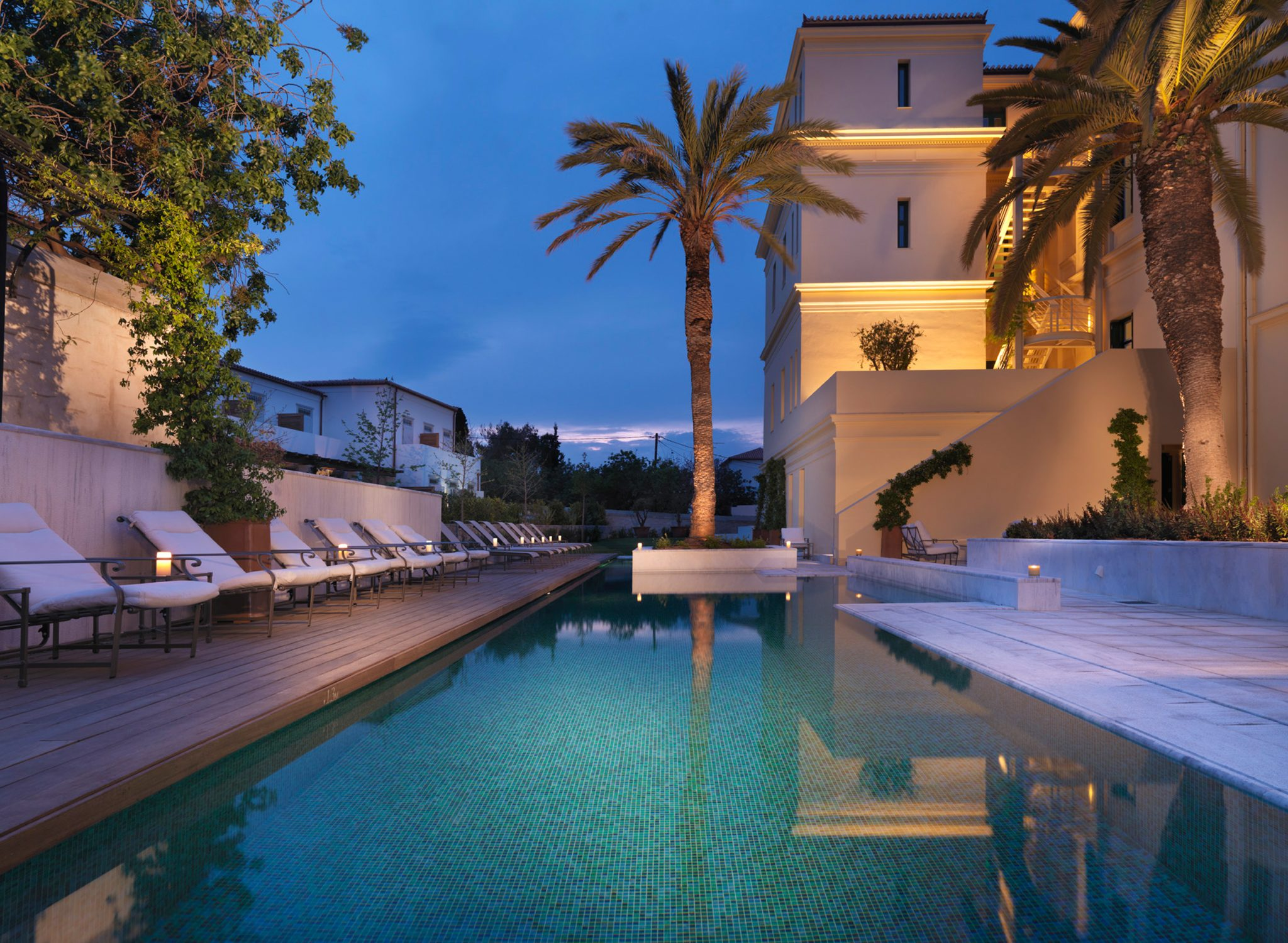 Pool (night view)