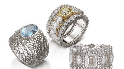 LA MAISON BUCCELLATI ENRICHIT SA COLLECTION BAND RING