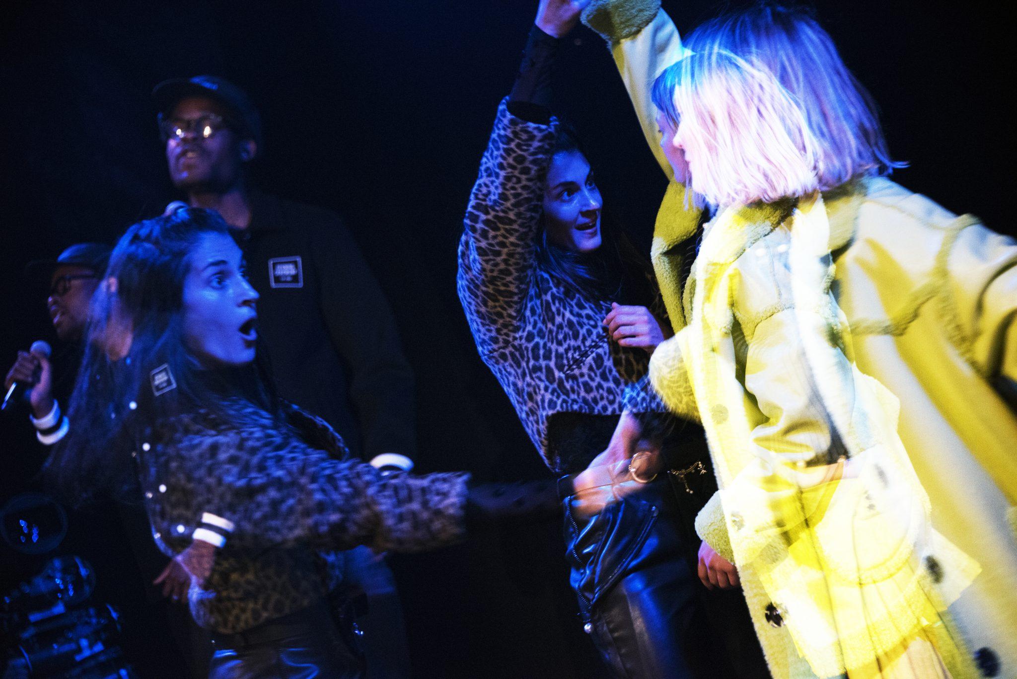 New York, NY: September 10, 2017: Fenty Puma SS 2017 with Rihanna, New York Fashion Week at Park Ave Armory. Photographer: Dolly Faibyshev.
