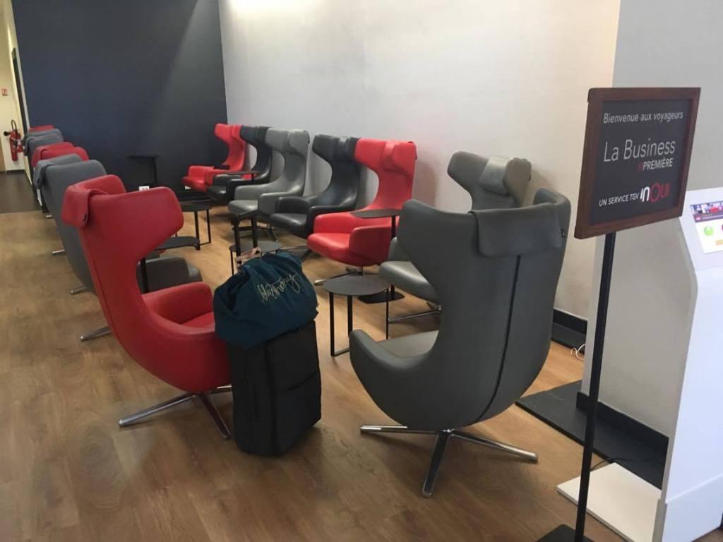 L'offre Business Première de la SNCF
