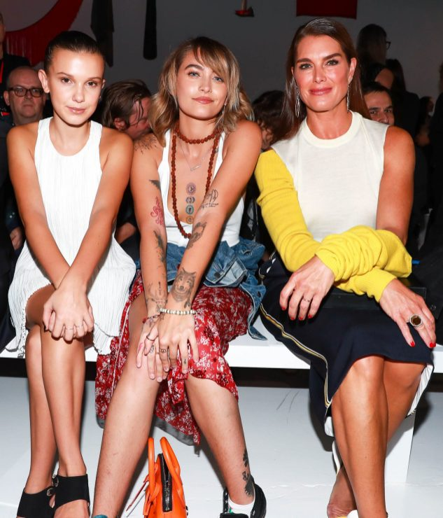 Millie Bobby Brown, Paris Jackson, Brooke Shields