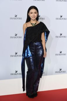 MILAN, ITALY - SEPTEMBER 20: Venice Tan attends Swarovski Crystal Wonderland Party on September 20, 2017 in Milan, Italy. (Photo by Stefania M. D'Alessandro/Getty Images for Swarovski) *** Local Caption *** Venice Tan