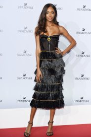 MILAN, ITALY - SEPTEMBER 20: Jourdan Dunn attends Swarovski Crystal Wonderland Party on September 20, 2017 in Milan, Italy. (Photo by Stefania M. D'Alessandro/Getty Images for Swarovski) *** Local Caption *** Jourdan Dunn