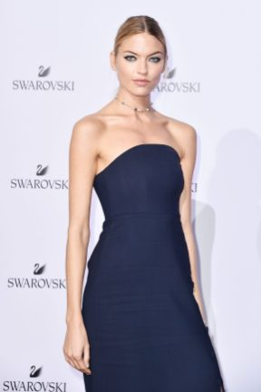 MILAN, ITALY - SEPTEMBER 20: Martha Hunt attends Swarovski Crystal Wonderland Party on September 20, 2017 in Milan, Italy. (Photo by Jacopo Raule/Getty Images for Swarovski) *** Local Caption *** Martha Hunt