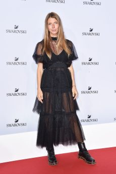MILAN, ITALY - SEPTEMBER 20: Virginia Galateri attends Swarovski Crystal Wonderland Party on September 20, 2017 in Milan, Italy. (Photo by Jacopo Raule/Getty Images for Swarovski) *** Local Caption *** Virginia Galateri