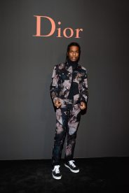 PARIS, FRANCE - JANUARY 21: ASAP Rocky attends the Dior Homme Menswear Fall/Winter 2017-2018 show as part of Paris Fashion Week on January 21, 2017 in Paris, France. (Photo by Francois Durand/Getty Images) *** Local Caption *** ASAP Rocky