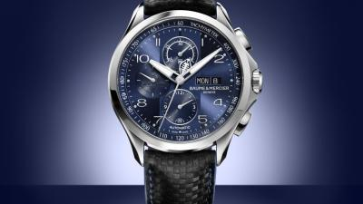 Bucherer prolonge sa collection Bucherer Blue Editions avec Baume & Mercier