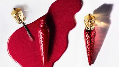 Christian Louboutin lance la collection Metalissime Rouge Louboutin pour les fêtes de fin d'année