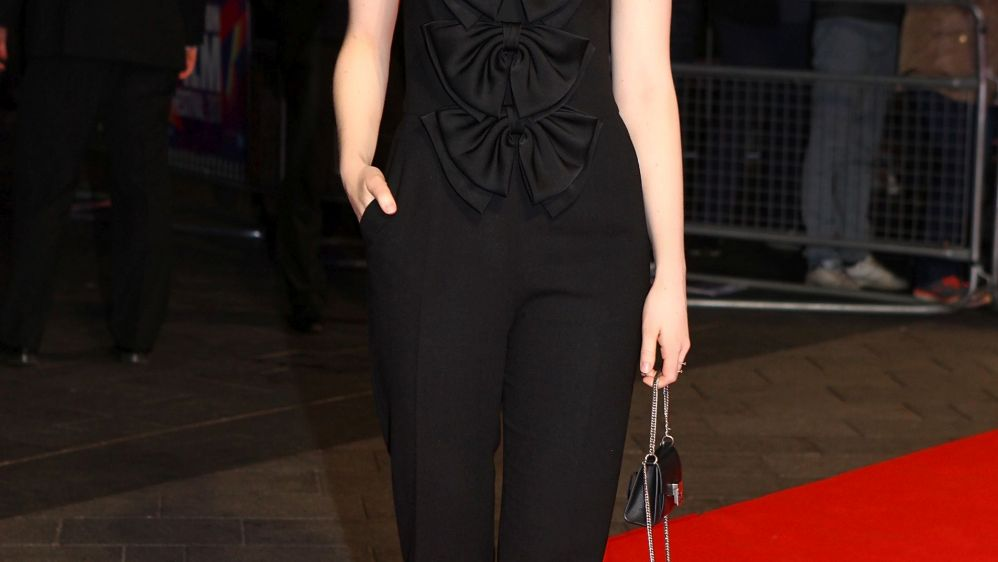 Emma Stone in Givenchy  61st BFI London Film Festival The Killing of a Sacred Deer Premiere