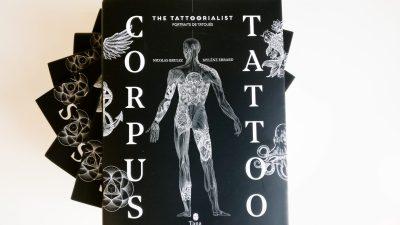 Corpus Tattoo – 3ème livre du projet The Tattoorialist