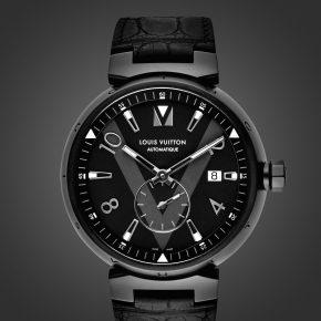 Tambour All Black par Louis Vuitton