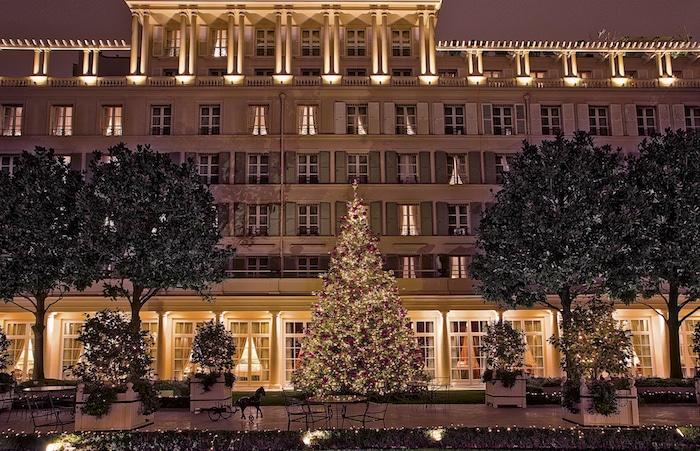 Un Noël enchanteur au Bristol Paris