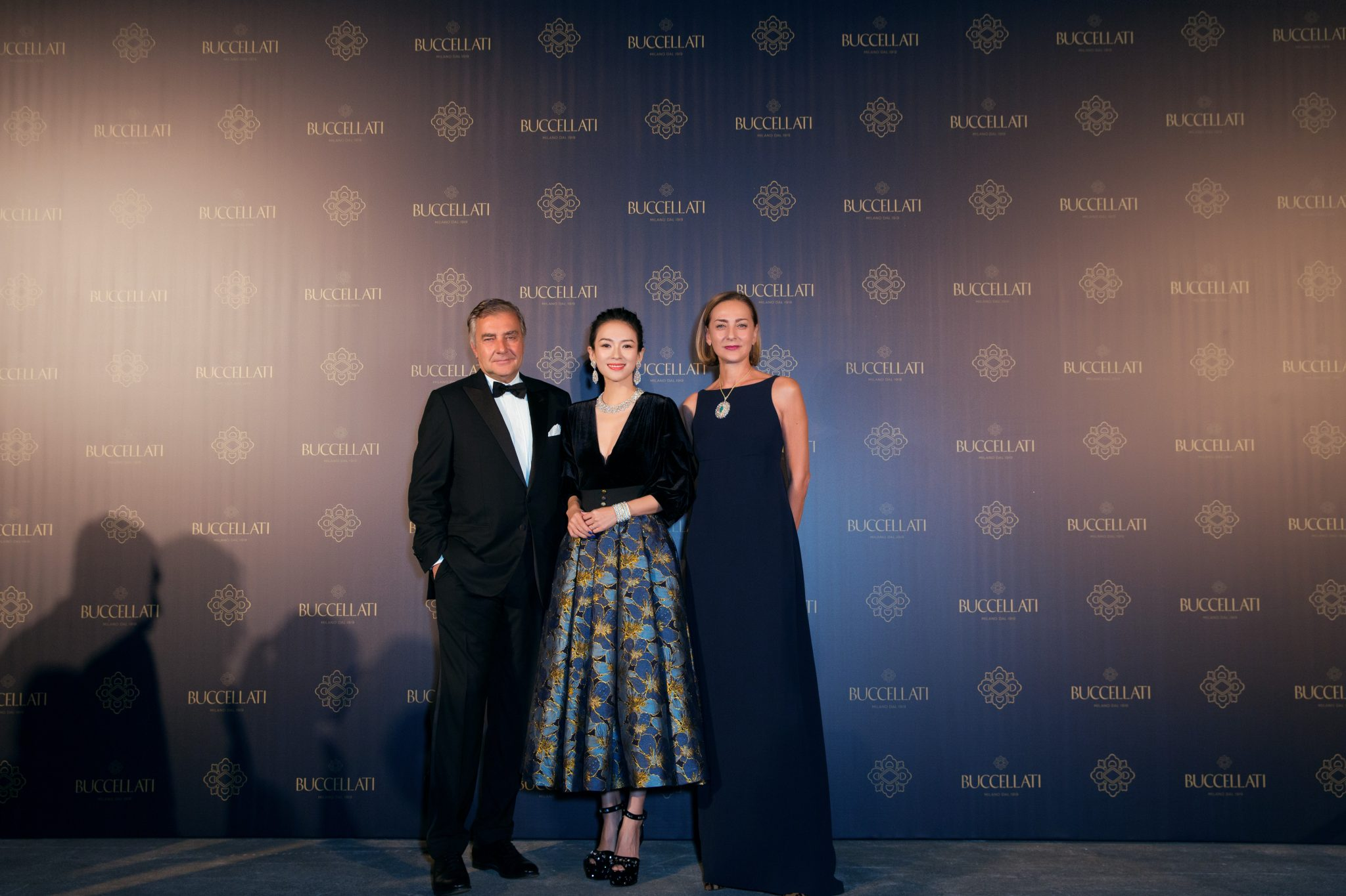 7 Zhang Ziyi with Maria Cristina and Andrea Buccellati