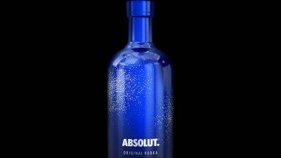 Absolut Vodka dévoile sa bouteille édition limitée