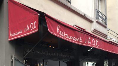 Au restaurant L'AOC, les assiettes sentent bon le terroir