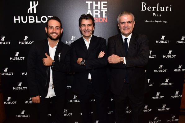 Alexander Lévy, Yannick Alléno et Ricardo Guadalupe