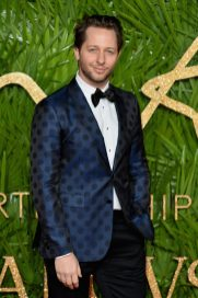LONDON, ENGLAND - DECEMBER 04: Derek Blasberg attends The Fashion Awards 2017 in partnership with Swarovski at Royal Albert Hall on December 4, 2017 in London, England. (Photo by Jeff Spicer/BFC/Getty Images)