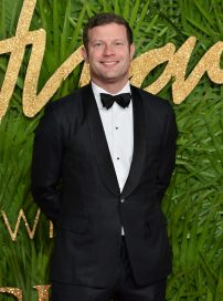 LONDON, ENGLAND - DECEMBER 04: Dermot O'Leary attends The Fashion Awards 2017 in partnership with Swarovski at Royal Albert Hall on December 4, 2017 in London, England. (Photo by Jeff Spicer/BFC/Getty Images)