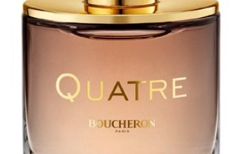 Quatre Absolu de Nuit le nouveau parfum Boucheron