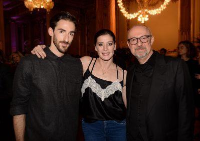 sandro veronesi CEO calzedonia marie agnes gillot et vincent chaillet ballerino