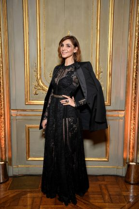 PARIS, FRANCE - JANUARY 24: S .A .R Princesse Clotilde Di Savoia attends the Cocktail & Dinner for the new Pomellato campaign launch with Chiara Ferragni as part of Paris Fashion Week during Haute-Couture Spring/Summer 2018 at Ambassade d'Italie on January 24, 2018 in Paris, France. (Photo by Venturelli/Getty Images for Pomellato)