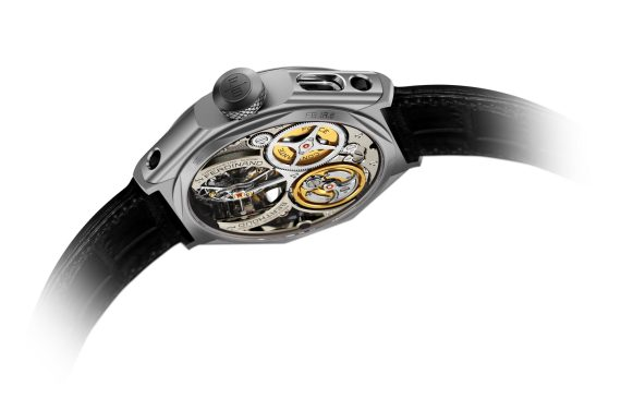 Chronomätre Ferdinand Berthoud FB 1R.6-1 - Caseback 2 - White Background