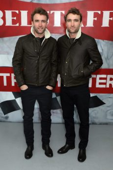 LONDON, ENGLAND - JANUARY 08: Hugo Turner and Ross Turner attend the Belstaff AW18 Mens & Womens Presentation during London Fashion Week Men's January 2018 on January 8, 2018 in London, England. (Photo by Darren Gerrish/WireImage) *** Local Caption *** Hugo Turner; Ross Turner