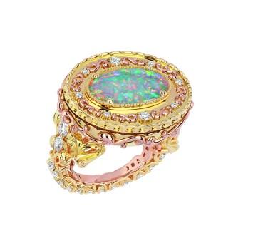 JSCR93009 - CACHETTE OPALE CLAIRE RING (2)