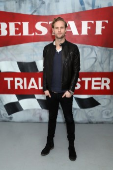 LONDON, ENGLAND - JANUARY 08: Jack Fox attends the Belstaff AW18 Mens & Womens Presentation during London Fashion Week Men's January 2018 on January 8, 2018 in London, England. (Photo by Darren Gerrish/WireImage) *** Local Caption *** Jack Fox