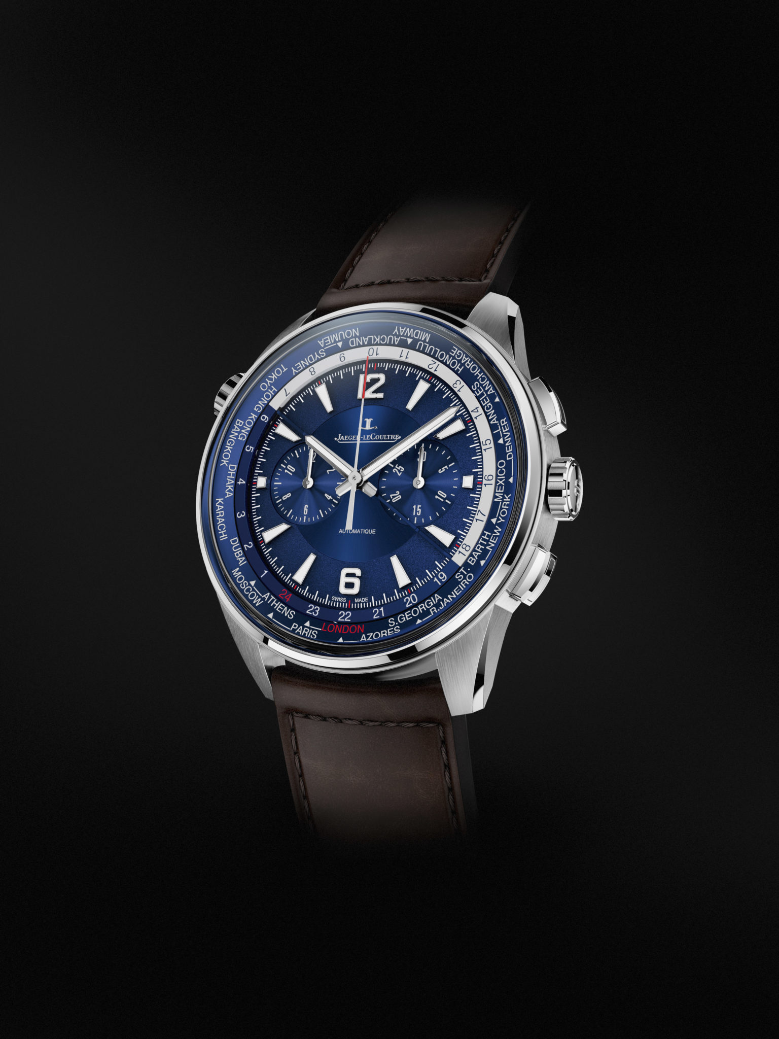 Jaeger-LeCoultre Polaris_Chronograph WT_blue