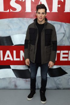 LONDON, ENGLAND - JANUARY 08: Pietro Boselli attends the Belstaff AW18 Mens & Womens Presentation during London Fashion Week Men's January 2018 on January 8, 2018 in London, England. (Photo by Darren Gerrish/WireImage) *** Local Caption *** Pietro Boselli