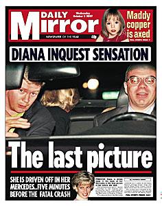 Tabloid et Diana