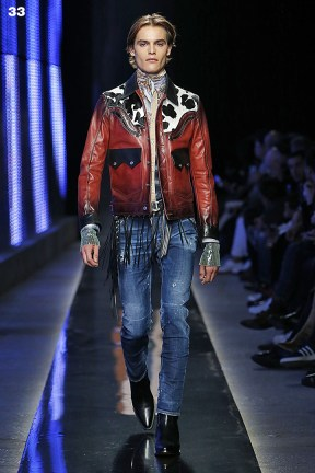 Dsquared2 Milan Fashion Week Men Fall Winter 2018-19 Milan January 2018
